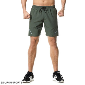 New Men Running Shorts Reflect Fitness Gym Athletic Sport Shorts Male Workout Bodybuilding Tennis Training Shorts
