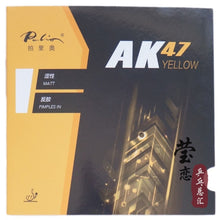 Load image into Gallery viewer, Original Palio 40+ table tennis rubber AK 47 and HK1997 gold colorful sponge table tennis rackets racquet sports pingpong rubber