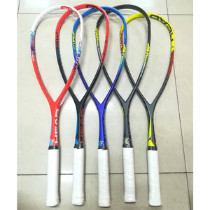 Carbon Head Squash Racket With Squash String Bag Speed Sports Carbon Padel Match Training Racquet Head Raquete De Squash Raqueta