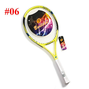 Proffisional Carbon Aluminum Alloy Tennis Racket Raqueta Pickleball Paddlet Racchetta Tennisracket Tennis Racquet with String