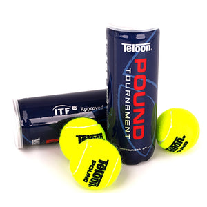 Rubber Tennis Balls Tournament Standard Cricket High Resilience Tennis Ball Competition Practice Woolen Tenis Ball With Holder