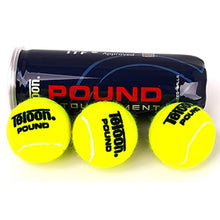 Load image into Gallery viewer, Rubber Tennis Balls Tournament Standard Cricket High Resilience Tennis Ball Competition Practice Woolen Tenis Ball With Holder