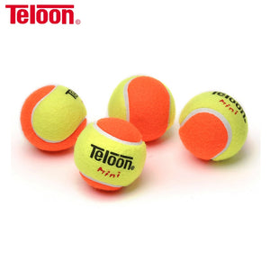 10 PCS Teloon Tennis Training Balls for Children Kids Suit >5 Years Old Decompression 50/25/75% Teenager Squash Ball K004-10SPB