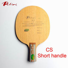 Load image into Gallery viewer, Original Palio CAT table tennis blade 3wood+2carbon table tennis blade, best light blade table tennis racket racquet sports