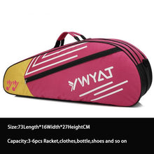 Load image into Gallery viewer, Badminton Racket Backpack Head Bag Tennis Racket Bag Sports Training Kitbag Tennisbag Racquet Bag Nylon Fitness Racket Mochila