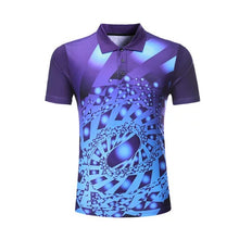 Load image into Gallery viewer, Team game custom Badminton shirt Men/Women Tennis t-shirts sports golf Polo shirt ping pong t-shirt Quick dry  Professional