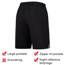 Load image into Gallery viewer, FANNAI Men Sports Running Shorts Training Soccer Tennis Workout GYM Quick Dry breathable Outdoor Jogging Shorts With Zip pocket