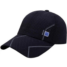 Load image into Gallery viewer, Newly Men Tennis Caps Baseball Sunscreen Hats Snapback Hat Hip-Hop Adjustable Caps