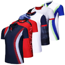 Load image into Gallery viewer, New sport shirt Tennis shirts Men/Women , table tennis tshirt , Quick dry Fitness sports training tshirts,outdoor running shirt