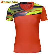 Load image into Gallery viewer, The New Women Golf Shirts Sports t-shirt tops tees Breathable Clothing Badminton Men's T-shirt Table Tennis Clothes Shirt