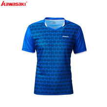 Load image into Gallery viewer, Kawasaki Badminton T-Shirt Men Female Tennis Shirt Quick Dry Short-Sleeve Training  Breathable Shirts For Male ST-R1222