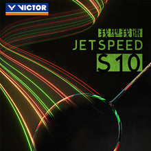 Load image into Gallery viewer, New Victor Jetspeed S 10 11 Js-10 High Quality Badminton Racket Professional Offensive National Team Used Racquet