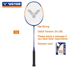 Load image into Gallery viewer, VICTOR original 4U 5U High-tension Badminton Racquet TK-HMR Badminton Racket 100% carbon Thruster hammer