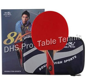 Original Double Fish 8 Stars 8A Table Tennis Rackets Racquet Sports Carbon Blade Fast Attack Loop for Near Break Type Players