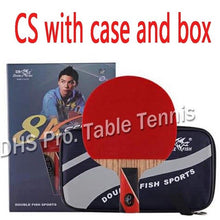 Load image into Gallery viewer, Original Double Fish 8 Stars 8A Table Tennis Rackets Racquet Sports Carbon Blade Fast Attack Loop for Near Break Type Players