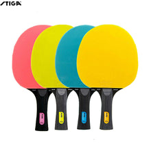 Load image into Gallery viewer, Original Stiga PURE table tennis rackets colorful table tennis rackets new player finished rackets racquet sports stiga rackets