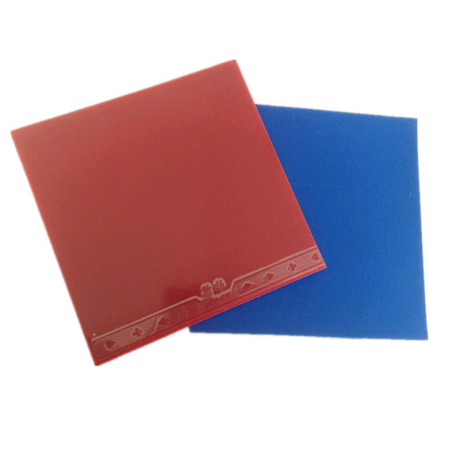 Stuor official 40+  table tennis rubber blue sponge for loop and fast attack new style for racquet game ping pong Red/Black