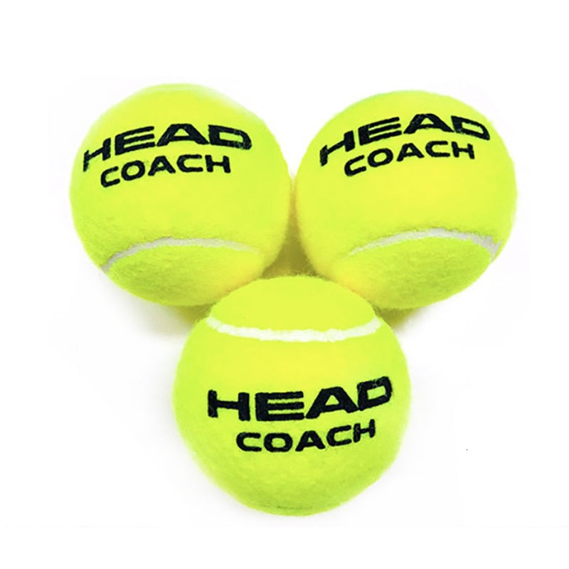 3 / 6 /12 Pcs Professional Original HEAD Tennis Balls Tennis Coach Training Balls Tenis Ball Tennis Trainer Pelotas Tennisballen