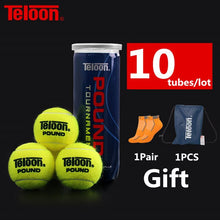 Load image into Gallery viewer, Teloon Professional Tennis Balls Competition Level POUND-3 High-bounce Resistant ITF World Tennis Tour Official Ball K022SPA