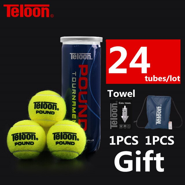 Teloon Professional Tennis Balls Competition Level POUND-3 High-bounce Resistant ITF World Tennis Tour Official Ball K022SPA