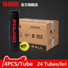 Load image into Gallery viewer, 24 Tubes/lot Teloon Professional Competition Tennis Ball for tenis Match Top Quality High-end Balls K033-24SPA