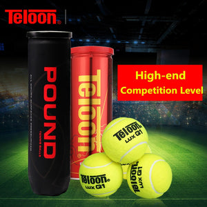 Teloon High-end Professional Tennis Match Ball Competition Level Top Bounce Performance Long Life tenis Balls K019SPA