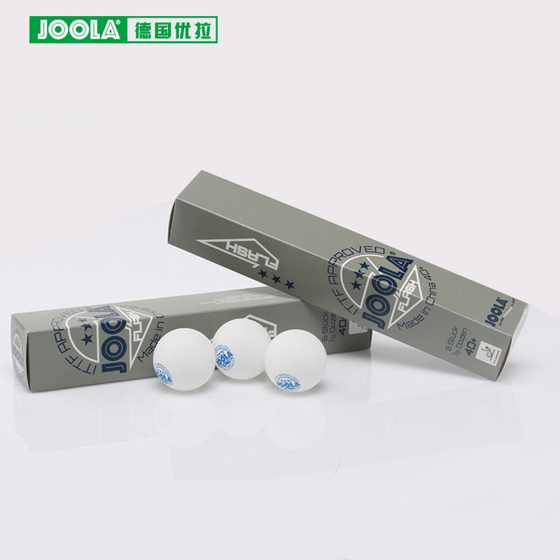 60Balls Joola 3-Star 3star Seamless 40+ New Material Poly Table Tennis Balls Ping Pong Plastic Balls ITTF Approved