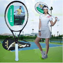 Load image into Gallery viewer, High Quality Carbon Fiber Tennis Racket Racquets . Tennis Grip Size 4 1/4 raquetas de tenis . Mai Xiang brand produce