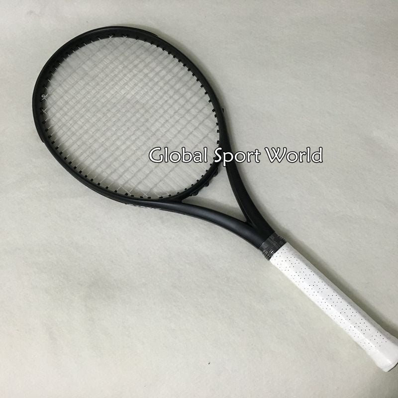 2016 NEW Taiwan 2015 customs Black Tennis Racquets 100% graphite tennis rackets 41/4,43/8,41/2 Free shipping