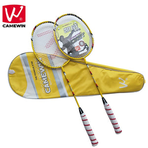 CAMEWIN Professional Badminton Racket Carbon High Quality Badminton Racquet|2 PCS Badminton Rackets+1 Bag| raquete de badminton