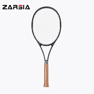 2017 NEW woven black racket taiwan OEM 97 97 sq.in carbon Racquet 16*19 tennis racket 315g Foamed handle with racket cover