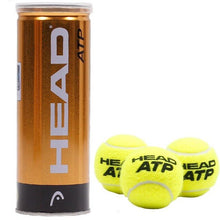 Load image into Gallery viewer, Original Head ATP 3pcs/tube  Davis Cup Tennis Balls Official Tennis ball Of  Davis Cup Raquete De Tennis Match ball 1 tube