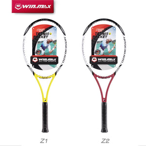 2018 WINMAX New Arrival High Quality Carbon Fiber Tennis Racket Racquets Equipped with Bag Tennis Grip Size 4 1/4 raquetas de te