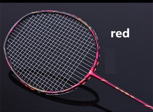 High Rigidity Badminton Racket Full Carbon 4U Defense Type Damping Amateur Entertainment Racquet Single Adult Racket Q1012CME
