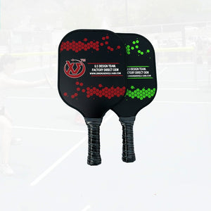 Professional Pickleball Paddle Racquet Racket Thin Quick At Net