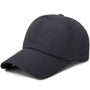 New Arrival Men Women Sports Tennis Caps Outdoor Simple Adjustable Breathable Solid Color Hat  0816