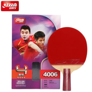 100% original DHS Table Tennis Racket 4002 4006 4007 Ping Pong Paddle Table Tennis Racquets indoo sports Raquete