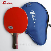 Load image into Gallery viewer, Palio official three stars finished racket pimples in for both rubber fast attack with loop ping pong game racquet game