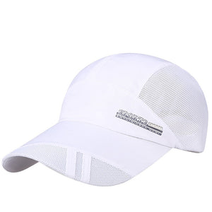 Hot Sell Women Adjustable Solid Baseball Tennis Cap Outdoor Mesh Sports Sunshade Hip-Hop Hat Dropshipping 0905