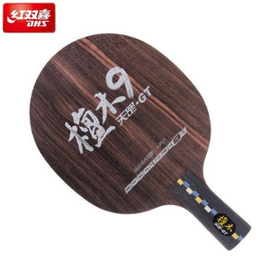 original dhs DI-GT 9 PLY PURE WOOD table tennis blades for ping pong racket professional Sandalwood quick attack racquet sports