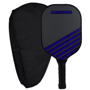 Graphite Blue Pickleball Racket With Polymer Honeycomb Composite Core Low Profile Edge Bundle  Indoor Outdoor