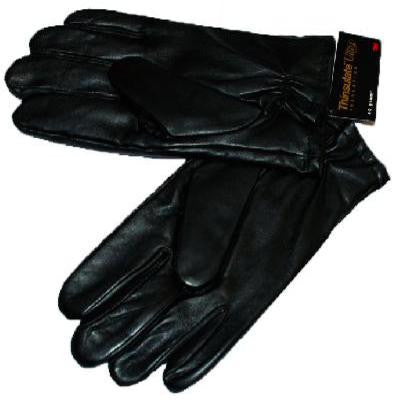 Leather Dress Gloves - Black