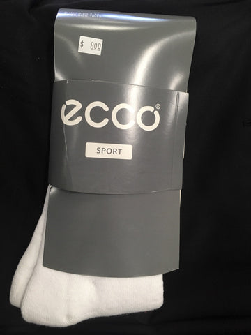 Ecco White Sock