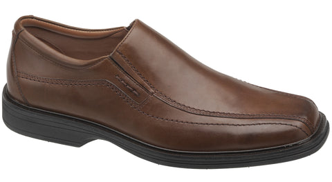Johnston & Murphy Stanton Slip-on - Red/Brown