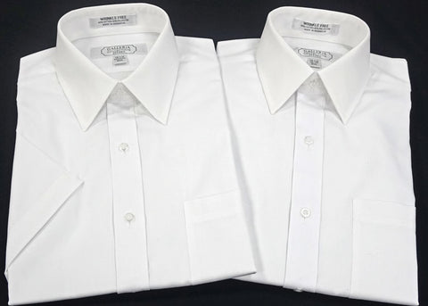 Slim Fit Long Sleeve Tall White Shirt