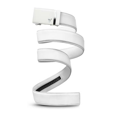 Mission Belt - White with White Buckle