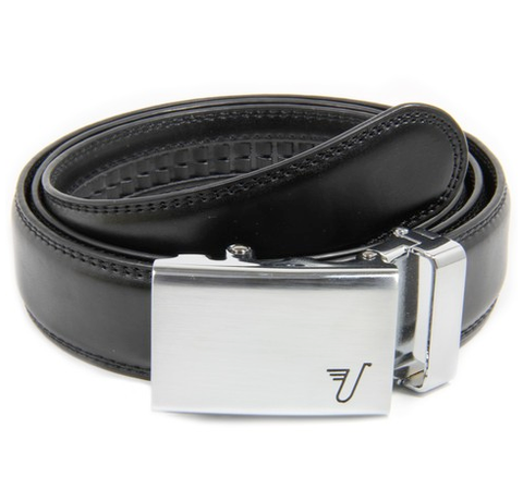 "Mission Belt - Black with Steel Buckle - XXL (up to 56"")"