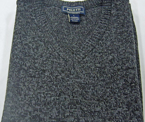 V-Neck Sweater Long Sleeve - Charcoal - Big & Tall