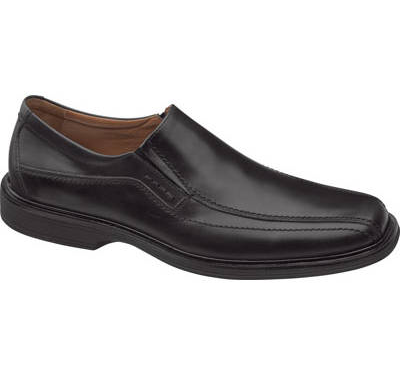 Johnston & Murphy Penn Slip-on - Black