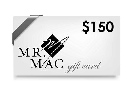 In-Store Gift Cards | Mr. Mac